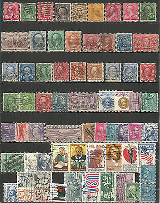 United States - nice Collections old used stamps