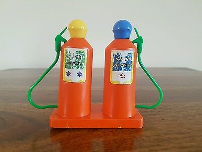 Vintage 1970's Airfix Weeble Harbour Petrol Pump