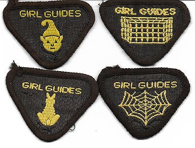 Girl Guides 451 Bronie Badges