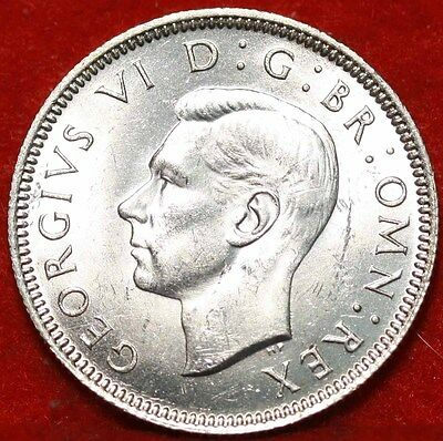1940 Great Britain Shilling Silver Foreign Coin Free S/H