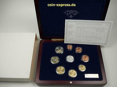 *** EURO KMS FINNLAND 2003 Diamond Proof Quality PP mit Silber Diamant Coin Set