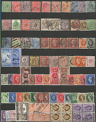 Great Britain   nice small collection  used stamps