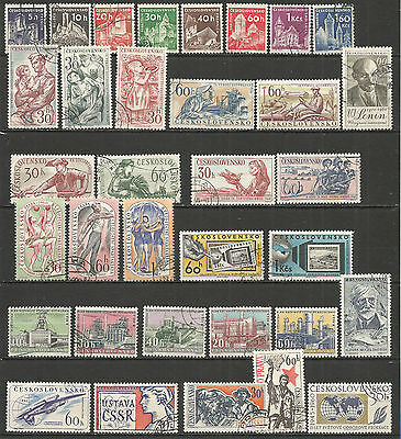 Czechoslovakia. 1960 nice COLLECTION used stamps CTO