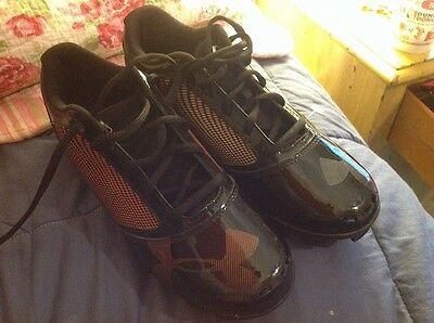 Under Armour Yard Rm Low Jr Youth Baseball Cleats Black 5.5Y