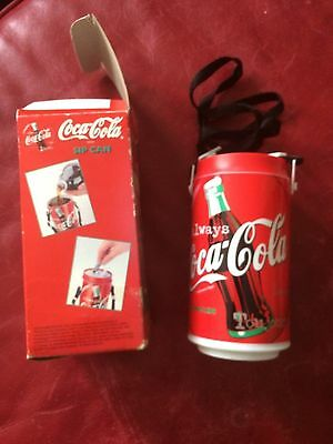 Coca Cola Coke Sip Can with Carry Steap NIB