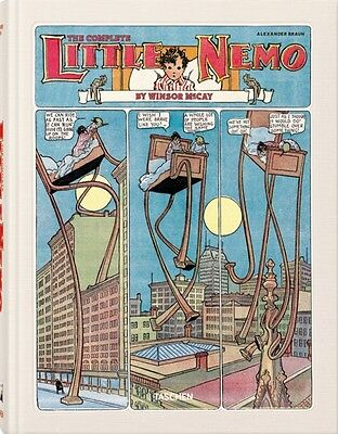 Winsor McCay: The Complete Little Nemo (Hardcover), Braun, Alexan. 9783836545112