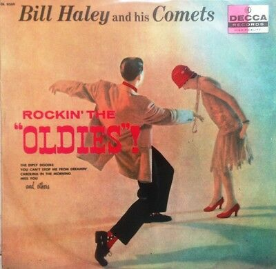 BILL HALEY & HIS COMETS -Rockin' The Oldies ITALY Orig. LP 1957 Fonit RARE !!!
