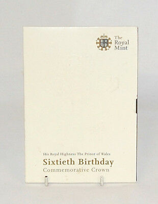 The Royal Mint HRH The Prince of Wales 60th Birthday Commemorative Crown W/A3