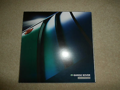 Range Rover Autobiography brochure 2002. mint collectors condition.