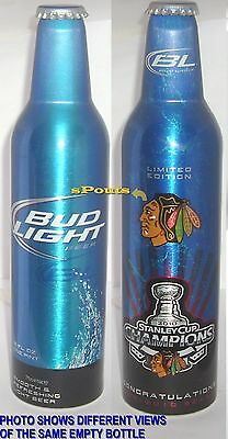 Ice Hockey Stanley Cup 2010 Chicago Blackhawk Sport Bud Aluminum Beer Bottle-Can