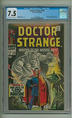 Doctor Strange 169 (CGC 7.5) OW/W pgs; 1st appearance in his own title (c#12038)