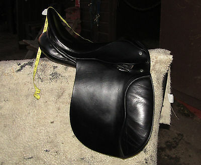 "15.5"" XW Extra Wide English Pony Saddle. Cob Welsh Dales Fell New Forest Haffie"