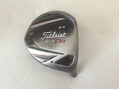 Titleist 913 D3 8.5°  Right Handed Driver Head Only Has adapter but no ferrule