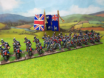 Superbly painted 28mm Napoleonic British Line Infantry Battalion