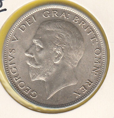 1935 George V Silver Halfcrown UNCirculated Sink S4037  -very NICE COIN