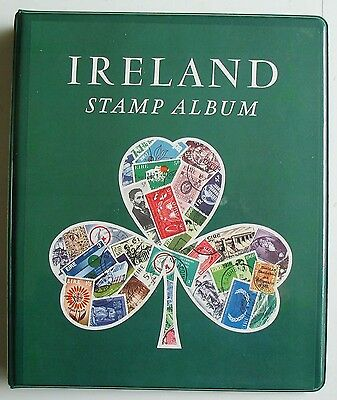 Ireland Stanley Gibbons Stamp Album cover.Used