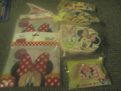 Mini Mouse 2 Sponges 3 Inflatable Balls 1 Bag Stocking Fillers Party Bag Loot