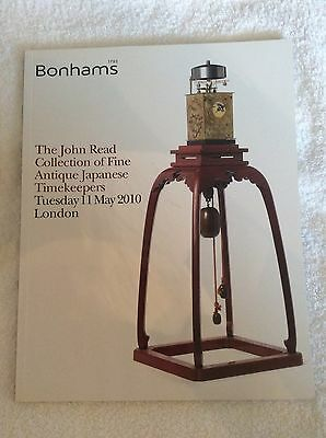 Bonhams The John Read Collection Japanese Timekeepers/Dokei Clocks