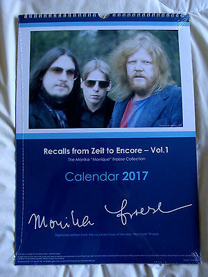Calendar : Tangerine Dream - Recalls From Zeit To Encore : 2017 Limited Edition