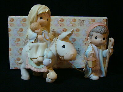 t Precious Moments Nativity-Flight Into Egypt-1998 Exclusive Limited Edition