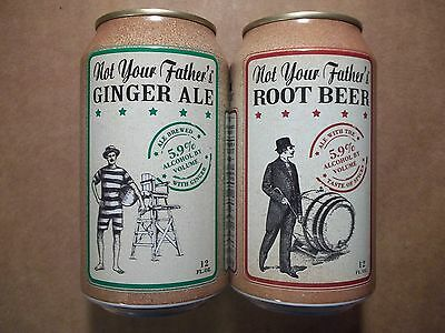 12 oz. Not Your Father's Ginger Ale & Root Beer   Beer Cans   Small Town Brewery