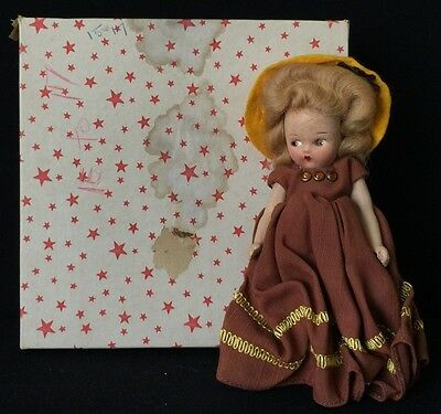 Vintage Composition Mayfair Birthstone Doll - November, 1946