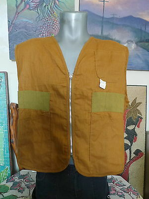 Deadstock 40's 50's Vintage PENNEYS FOREMOST Hunting Vest Large NWT