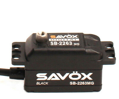 Savox SB2263MG-BE Black Edition Low Profile Brushless Digital Servo  SB2263MG-BE
