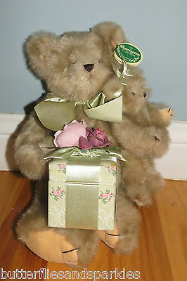 The Bearington Bears Collection Snuggles And Cuddles 1097 Baby And Momma Bear