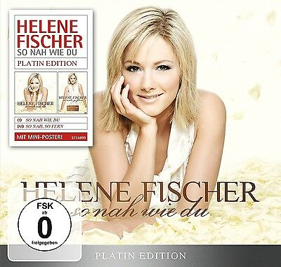 Helene Fischer - So Nah Wie Du (Platin Edition-Limited)   Cd+Dvd Neuf