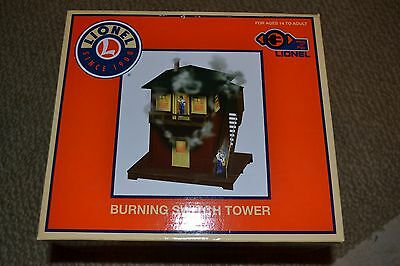 Lionel 6-82020 BURNING SWITCH TOWER New In Box
