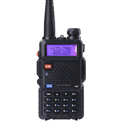 Canada Stock Baofeng Two-Way Radio UV-5R FM Dual Band UHF & VHF Walkie Talkie