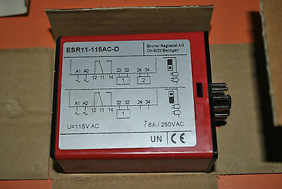 Bircher Safety Relay Esr11-115Ac-D Esr11-115Ac 20213368 New