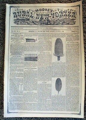 1866 NYC Newspaper Indians Killed Colorado Fort Article Armes Indian Fighter