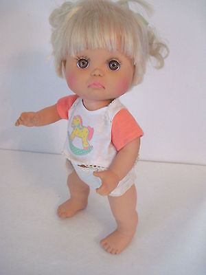 Lewis Galoob Baby Face Doll #24 So Sad Brooke - All Original Vg Condition Cute!
