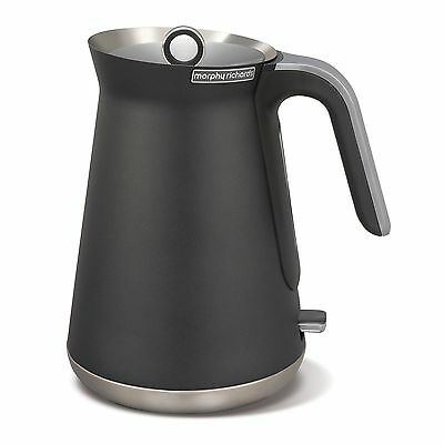 Morphy Richards Aspect 1.5L Filter and Boil Stainless Steel Kettle - Titanium.