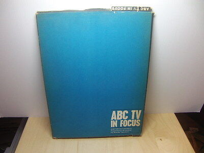 ABC TV in Focus – promotional brochure / book Feb 1963 in orig BOX The Avengers