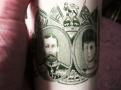 Antique Beaker Coronation June 1911 King George V Queen Mary Long May They Reign