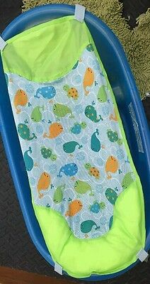 Baby bath in blue with sling excellent condition