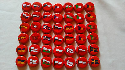 42 RED- TWO SET Coca Cola bottle cap EURO 2016  LIMITED FLAG EDITION  HUNGARY