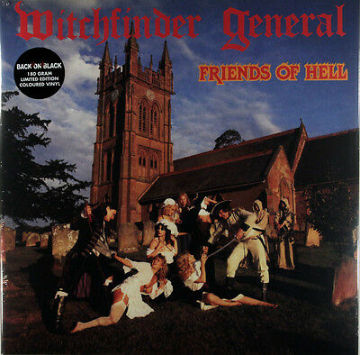 Witchfinder General - Friends Of Hell (Limited RSD 180g Yellow Vinyl LP) New