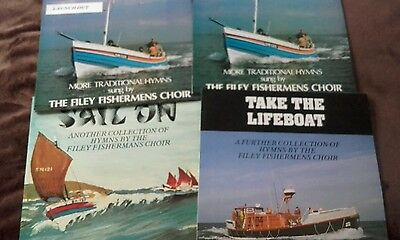 The Filey Fishermens Choir Vinyl LPs - 4 Records in Excellent Condition