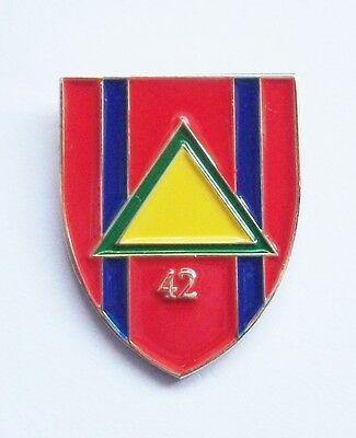 42 Field Squadron Royal Engineers Lapel Pin Or Walking Stick Mount