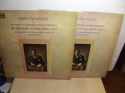 Michael MacLiommoir in The Importance of Being Oscar wilde 1960s 2 LP set CBS