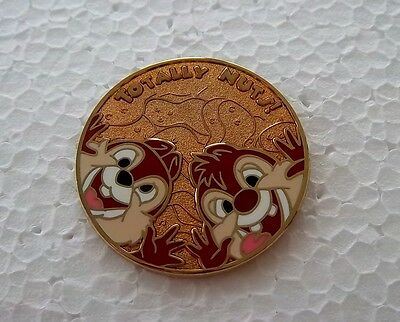*~*disney Rare Htf Chip & Dale Totally Nuts Mystery Pin Buttons Le 250 Pin*~*