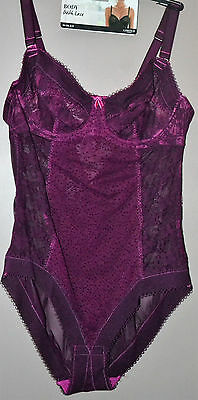 Ladies M&s Body With Lace Limited Collection - Size 36C - Underwired - New