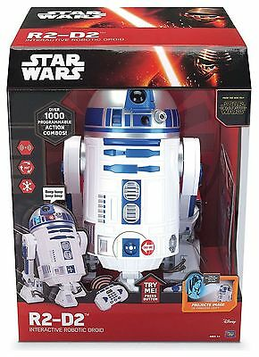 Star Wars The Force Awakens Robotic R2D2 BRAND NEW SEALED £129.99