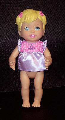 Vintage Mattel Little Mommy Baby Doll Princess and the Potty 2011 GUC