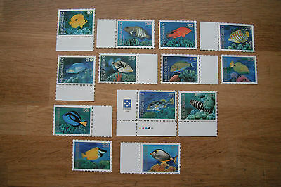 Micronesia Fish of 1993-94 Mint Never Hinged missing a few lower values in set