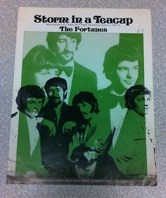 Sheet Music By The Fortunes, Storm In A Teacup, Vintage
